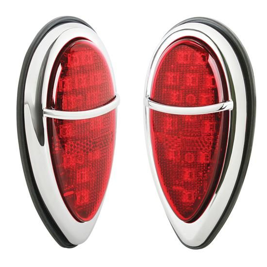 1938 1939 Ford Mini Zephyr Led Tail Lights Led Tail Lights Ford Tail Light