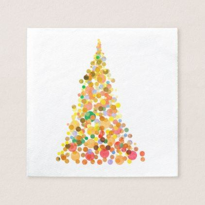 Celebrate the Season Poinsettia Christmas Holiday Party Paper Beverage Napkins