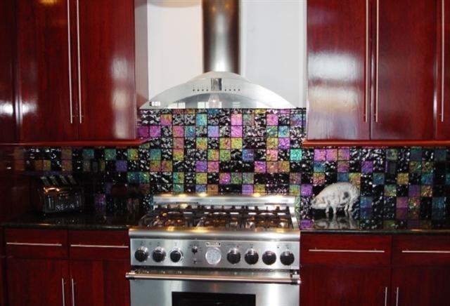 - Lightstreams Glass Kitchen Backsplash Tile | Various Colors