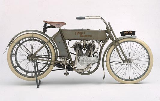 1909 Harley-Davidson Motorcycle