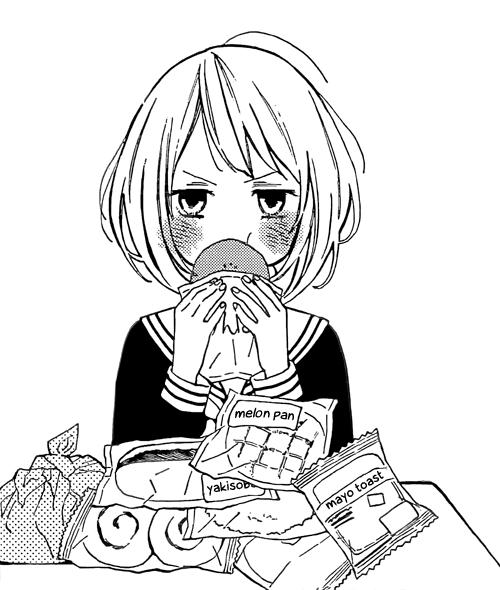 Black White Aesthetic Manga Anime Anime Expressions Anime Manga Cute