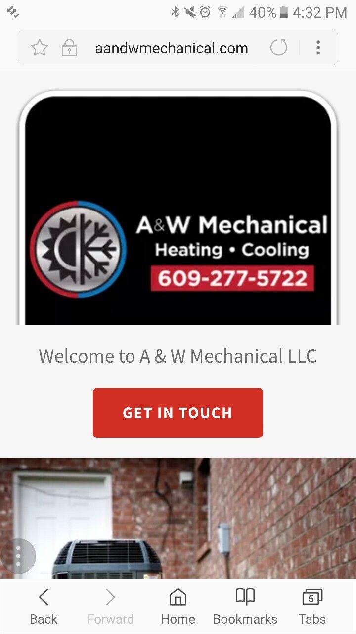 Aandwmechanical Com A W Mechanical Llc Heating And Cooling Company