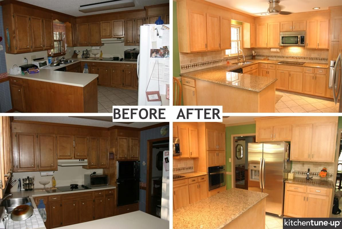 Best Kitchen Gallery: Replacing Kitchen Cabi Doors Before And After Check More At S of Replacing Kitchen Cabinet Doors Before And After on rachelxblog.com