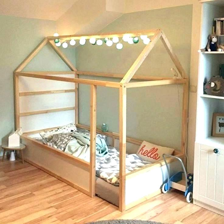 Ikea Kura Tent Bed Pink Reversible Ideas Amazing Best Hack On Regarding Canopy Be K Habitacion Montessori Cama Infantil