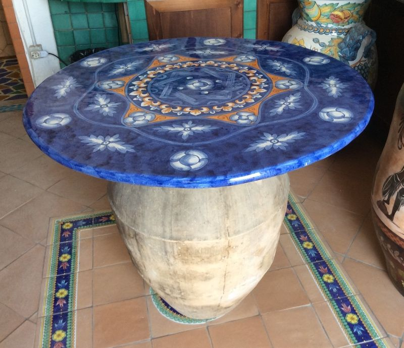 Tavoli in Ceramica di Vietri | Tavoli in Ceramica Vietrese | Decor ...