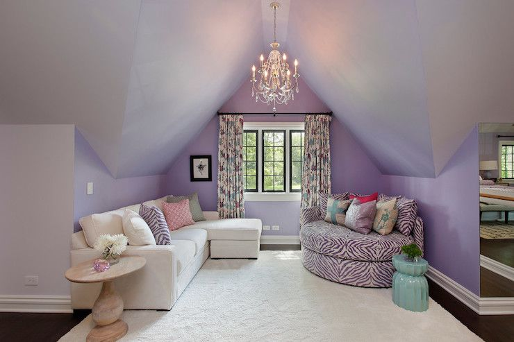 Decorating Rooms With Slanted Walls Girls With Slanted Wall Attic