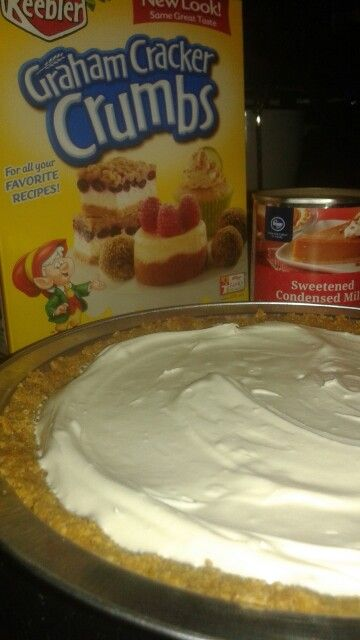 My Personal Recipe For No Bake Cheesecake Mix Together 1 Box 13 5 Oz Graham Cracker Crumbs 2 Sticks 1 Cup Melted Butter 1 Recipes Personal Recipe Baking