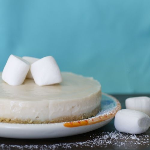 Vegan Marshmallow Cheesecake