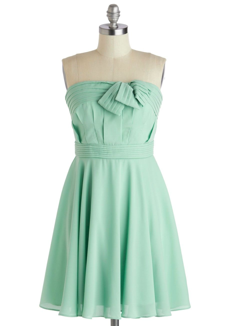 Mint Green Party dress | Pastel Aesthetic | Pinterest | Green party ...