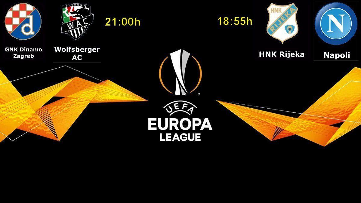 Uzivo Dinamo Wolfsberger I Rijeka Napoli Ovdje Gledajte Live Stream Uefa Europska Liga 3 Kolo Racunalo Com Rijeka Gnk Dinamo Zagreb Europa League