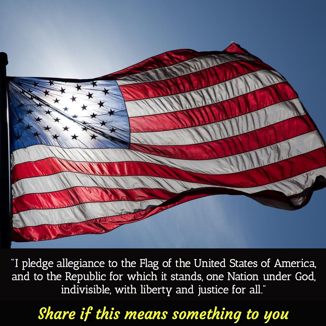 I Pledge Allegiance To The Flag Of United State America And Republic For Which It Stand One Natio Fourth July Quote Happy Labor Day What Doe Mean Me In Justice