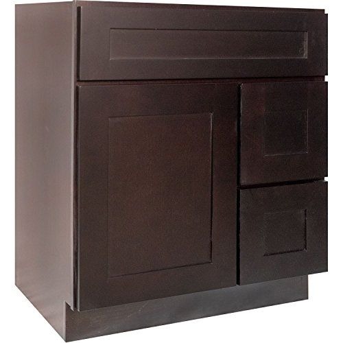 Everyday Cabinets Inch Bathroom Vanity Single Sink Cabinet In