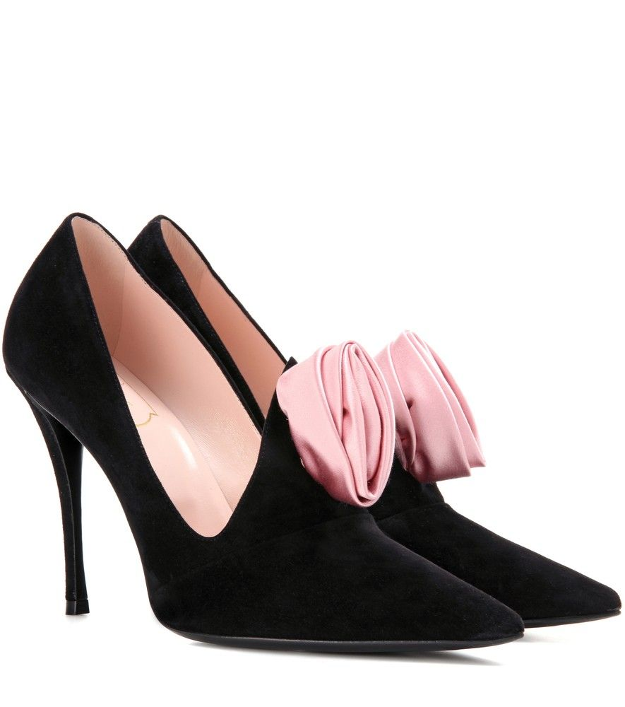 Roger Vivier Embellished Suede Pumps discount best store to get clearance looking for outlet best official sale amazon DydkgRr
