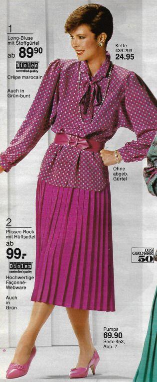Faltenr cke sind die femininsten r cke leider sind sie aus der mode gekommen ich w rde gerne - 80er damenmode ...