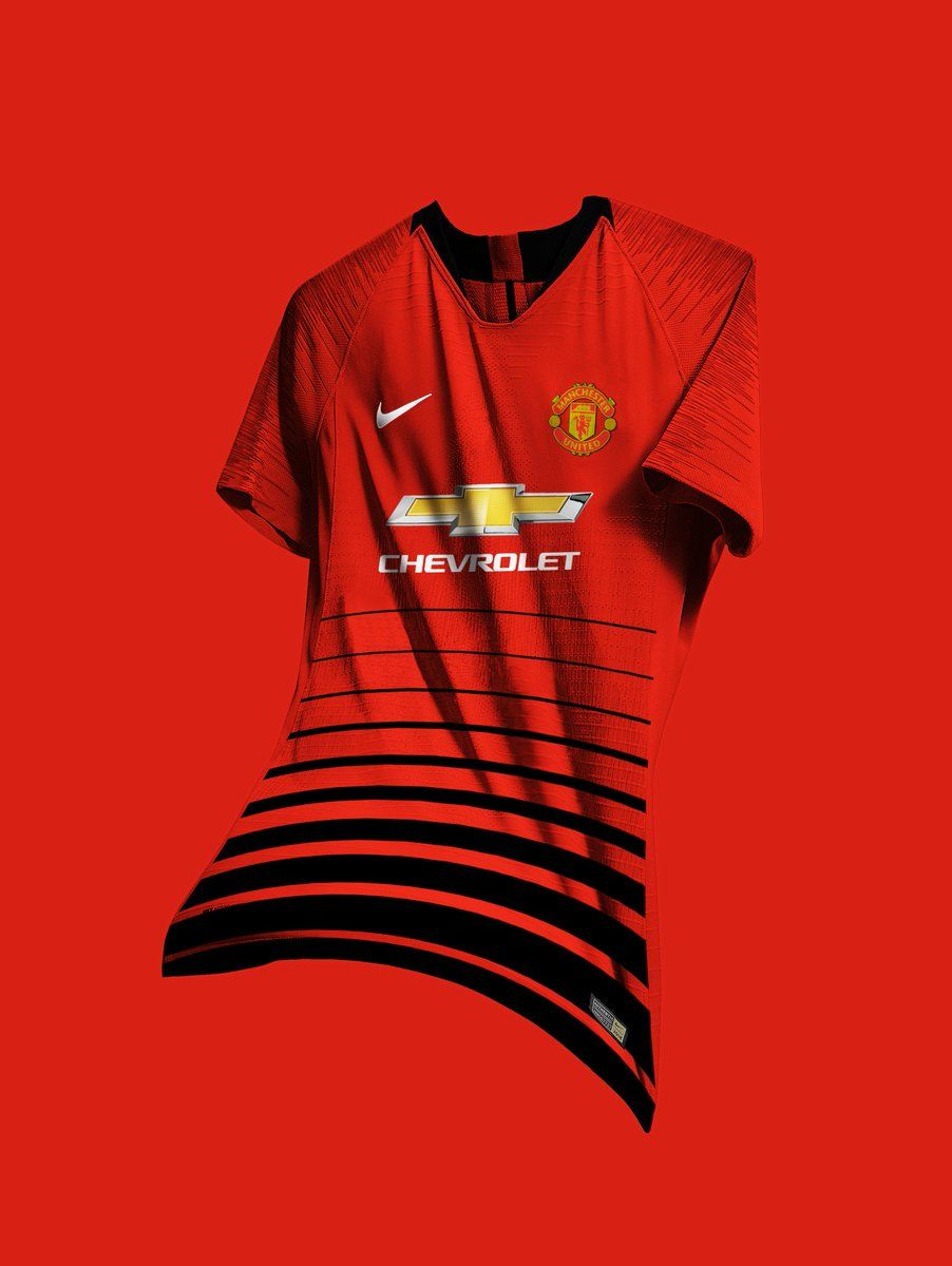 The latest 2018 19 Manchester United home jersey - click to buy  FIFA   football  Fútbol bd932cca549