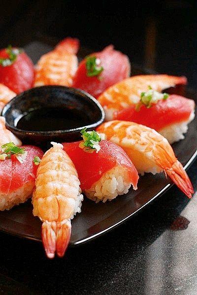 참치&새우초밥