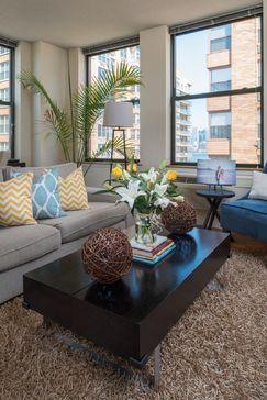 Designer Living Room by Tahar Decor