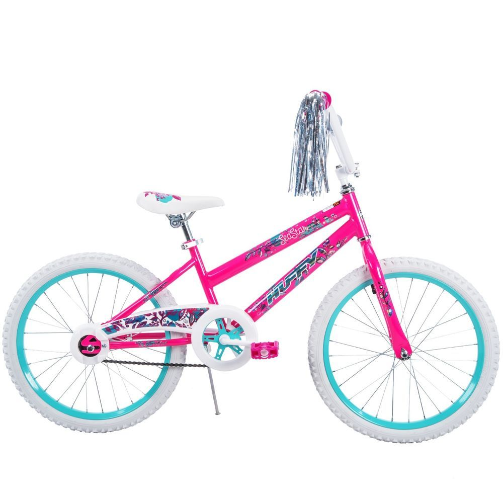 New Huffy 20 Girls Bike Sea Star Streamers 1 Speed Steel