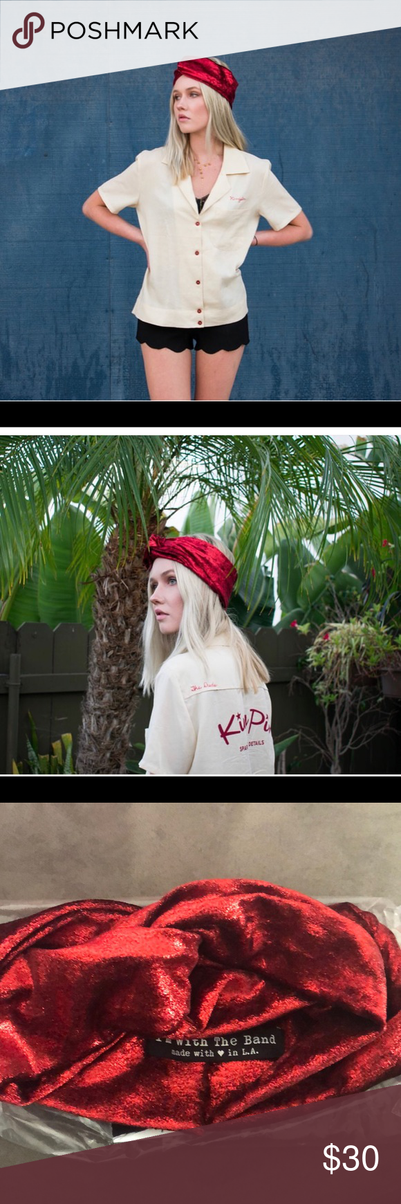 IM WITH THE BAND | Ruby Tuesday Turban Headband Excellent Like New condition. IM WITH THE BAND Ruby Tuesday Velvet Foil Turban Headband. Shimmery Red goodness. Stretchy and Comfortable. Im with the band Accessories Hair Accessories #rubytuesdays IM WITH THE BAND | Ruby Tuesday Turban Headband Excellent Like New condition. IM WITH THE BAND Ruby Tuesday Velvet Foil Turban Headband. Shimmery Red goodness. Stretchy and Comfortable. Im with the band Accessories Hair Accessories #rubytuesdays IM WITH #rubytuesdays