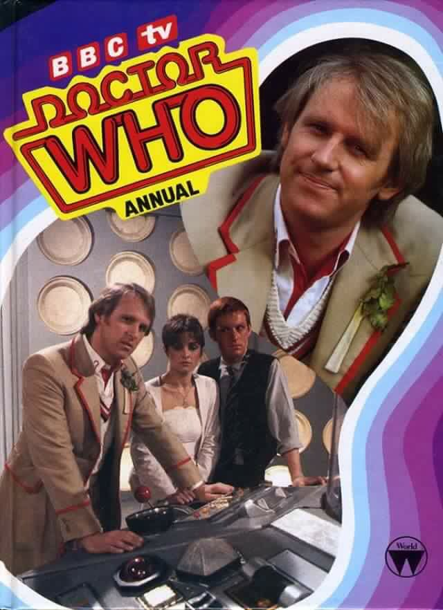 Doctor Who annual from 1983.
