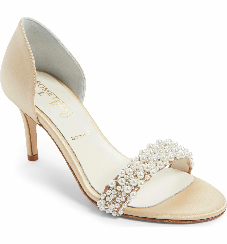 Bridal Shoes At Nordstrom: Something Bleu Cappy D'Orsay Sandal (Women