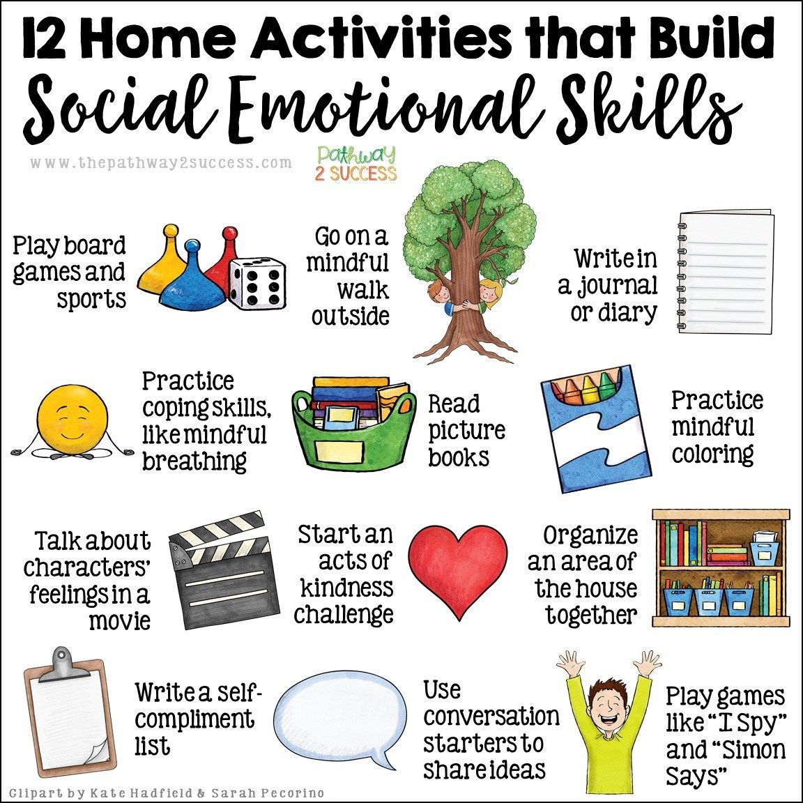 10 Social Emotional Activities For Home Social Emotional Learning Activities Social Emotional Learning Social Emotional Activities