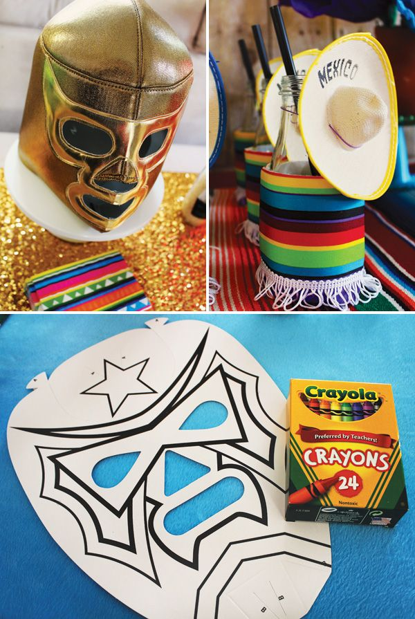 Quot Nacho Ordinary Quot Father S Day Party Luchador Love These