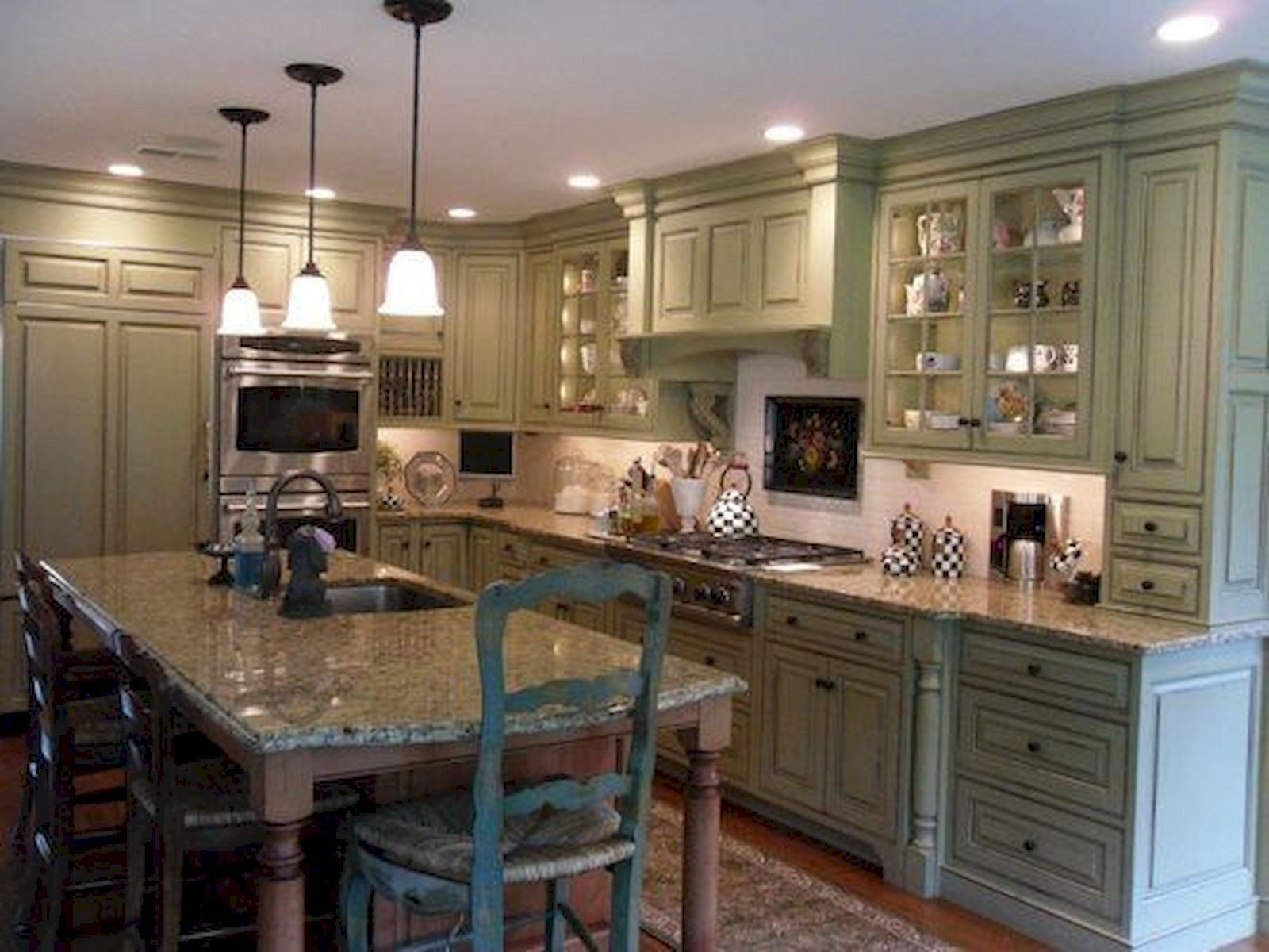 Awesome Sage Greens kitchen Cabinets (26 | Kitchen ...