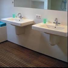 Afbeeldingsresultaat voor teak badkamer vloer - BADKAMER | Pinterest ...