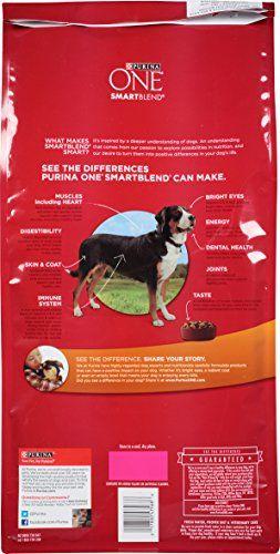 Purina One Smartblend Dry Dog Food Chicken Rice Formula 8 Pound