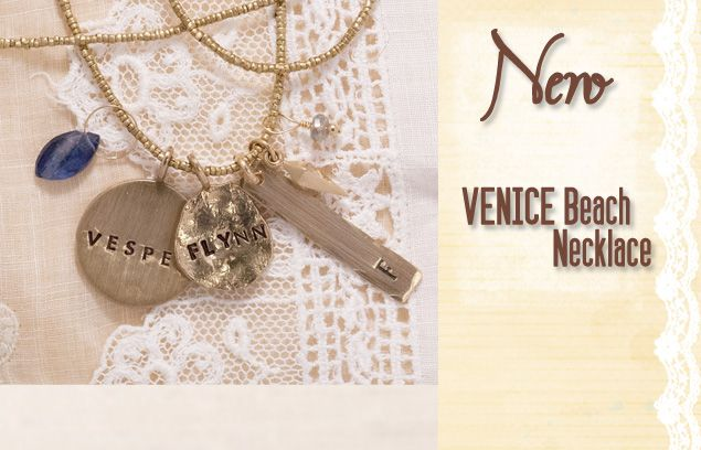 Hand Stamped Jewelry Personalized Nameplate Necklace Three