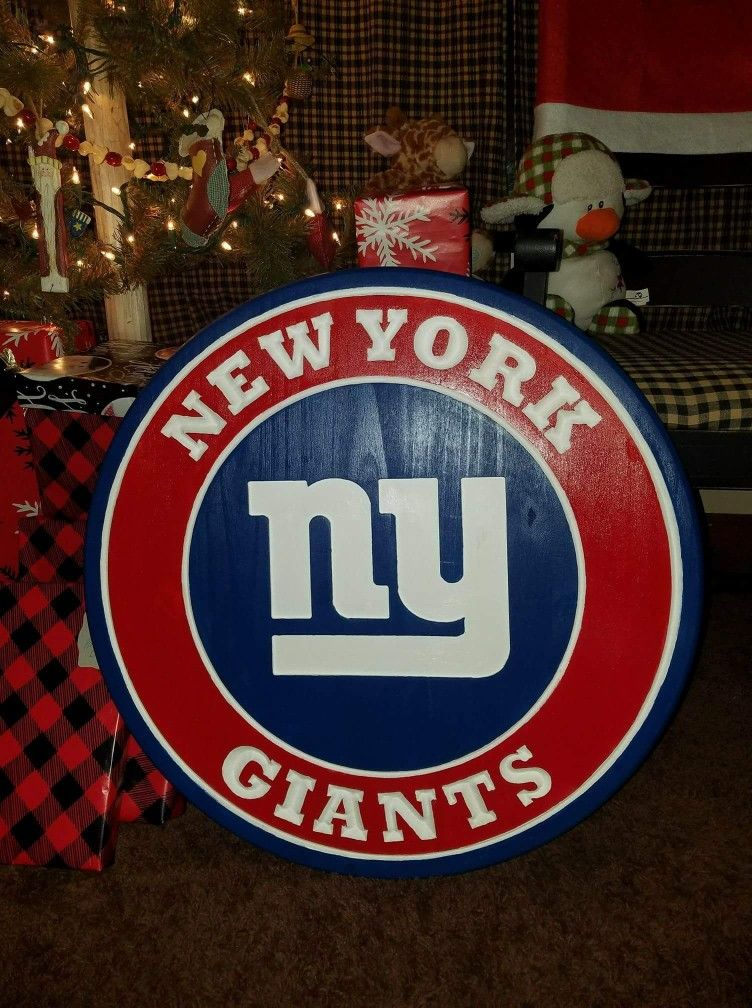 Cnc ny giants sign with images chicago cubs logo