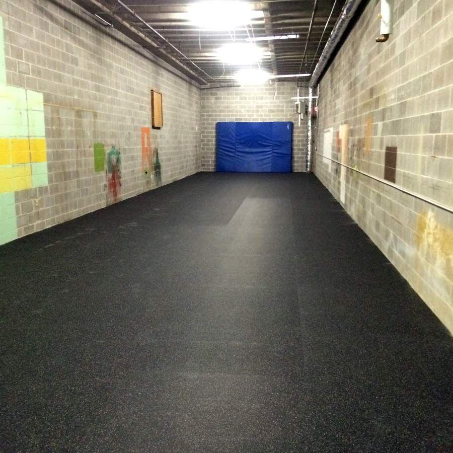 Rubber Flooring Rolls 1/4 Inch Regrind Confetti Rubber