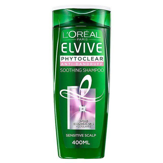 L'Oreal Elvive Phytoclear Anti-Dandruff Soothing Shampoo   Ocado ,  #Antidandruff #dandruffcausesshampoos #Elvive #LOreal #Ocado #Phytoclear #SHAMPOO #Soothing