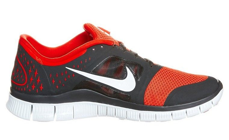 Original Nike Free Run 3 mens running shoes Natural Running grey orange  Cheap Sale UK - : Original Cheap N.