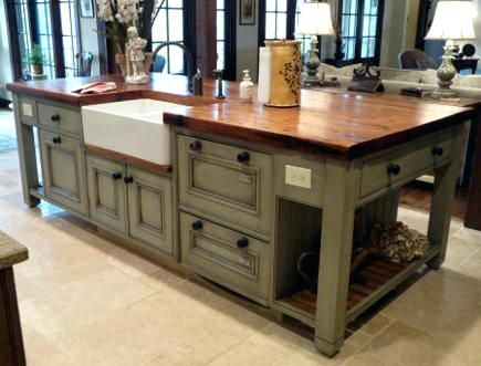Kitchen Island Sink Plumbing Vent With And Seating