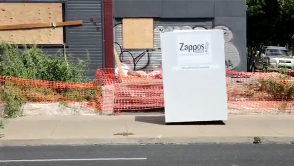 Zappos sends Google a challenge in a new PayWithACupcake