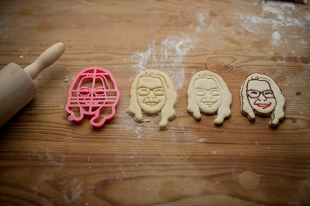 »Your PORTRAIT custom cookie cutter by Copypastry on Etsy«  #cookie