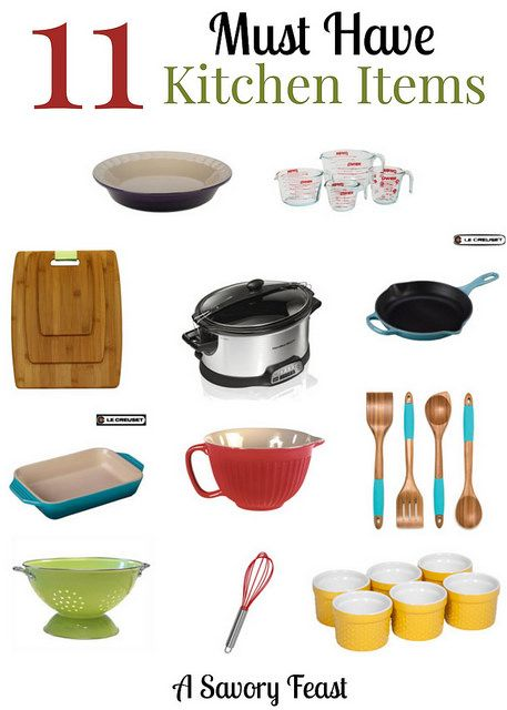 11 Must Have Kitchen Items A Wish List A Savory Feast Kitchen Items Kitchen Must Haves Kitchen Appliances