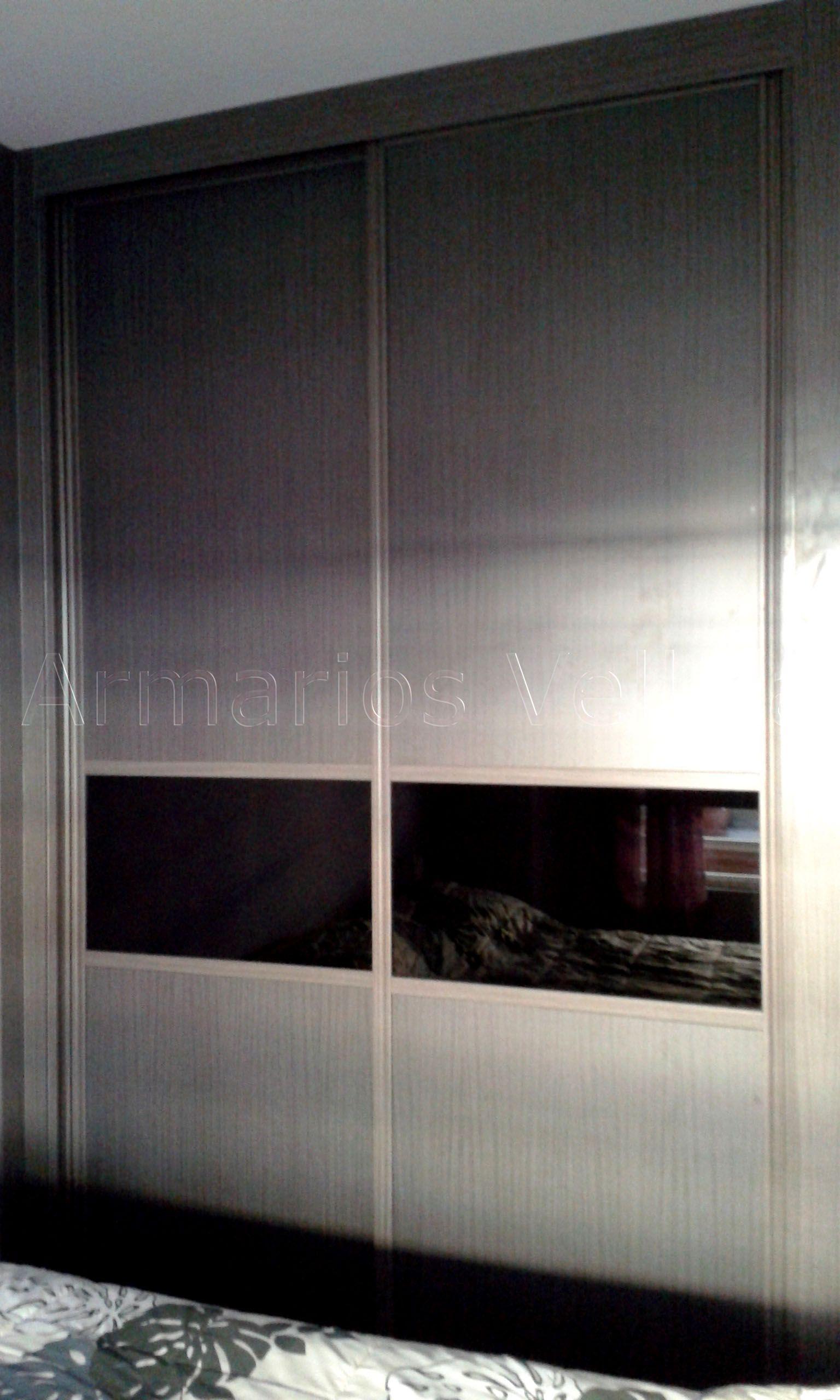 Armario empotrado en dormitorio principal 262 x 169 x 67 for Armarios melamina modelos