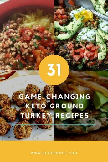 Photo of 31 Keto Ground Turkey Recipes That Will Make You LOVE Your Diet