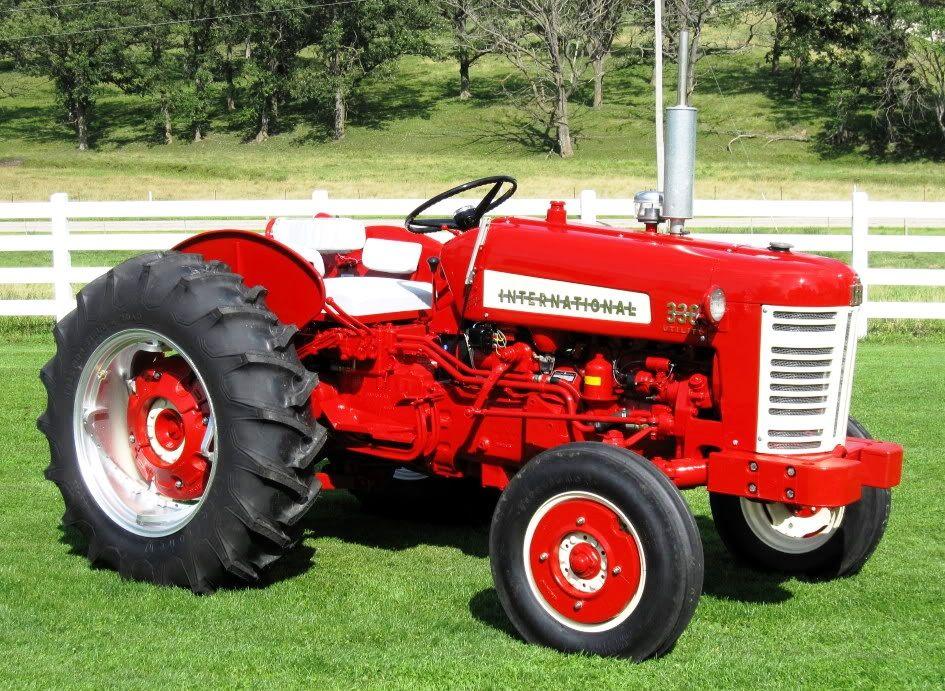 1958 International Tractor : Ih utility brady boy favorites pinterest
