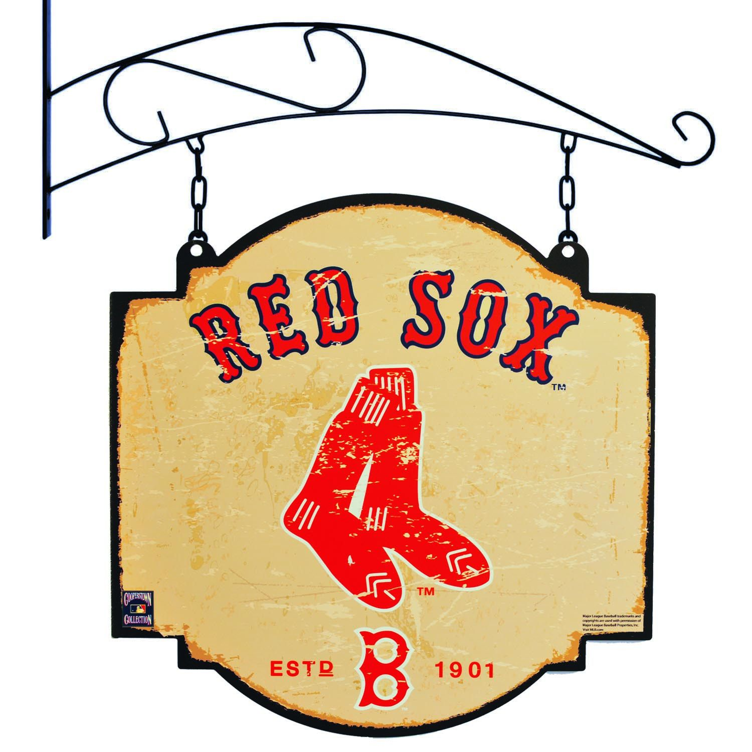 Boston Red Sox Metal Tavern Sign | Patriots New England | Pinterest ...