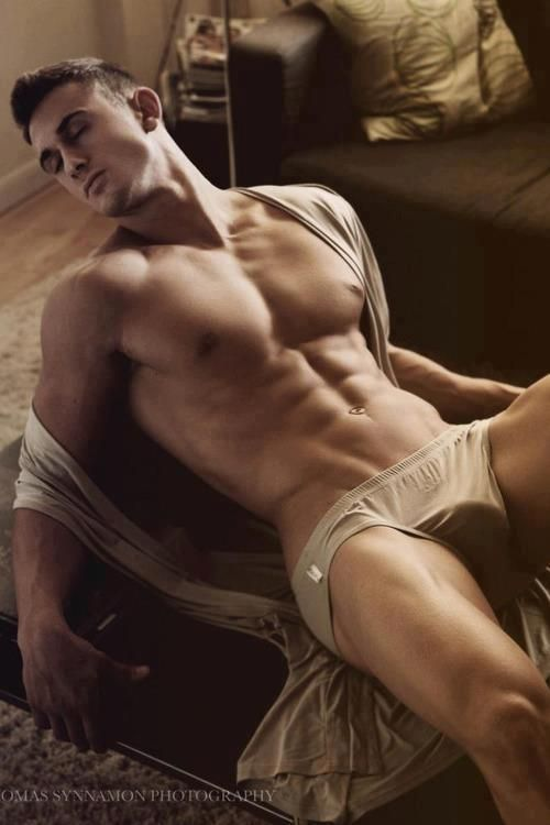 Hot naked guys reading