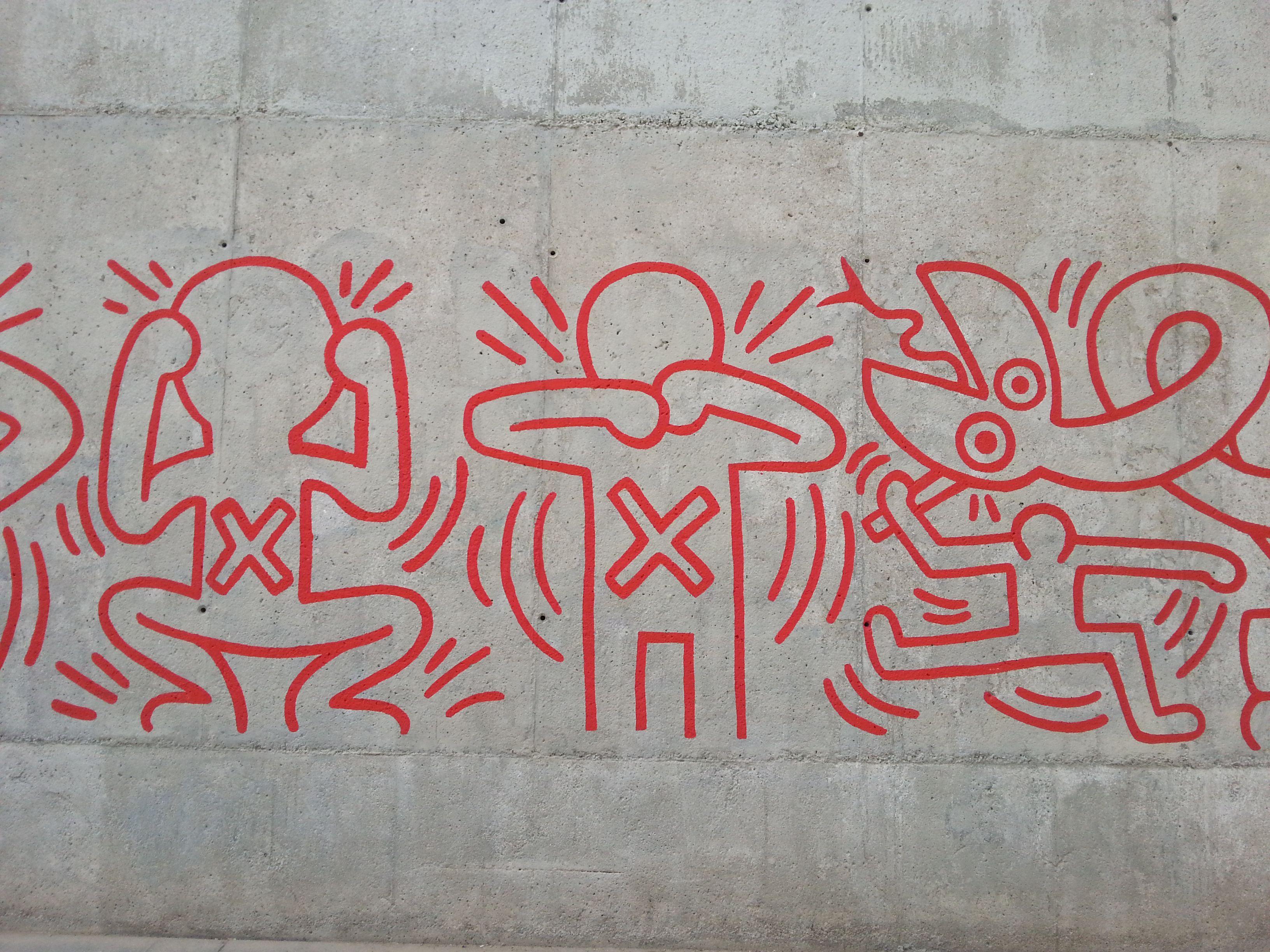 Jardins museu CCBB #ArtUrbaBARCELONA  #GRAFFITImural #ArtSocietatEducacio2014