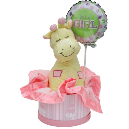 Baby Girl Hamper Small Baby Gift $89.50AUD - prices include delivery and GST. Available as pictured in Sydney and Melbourne Only.