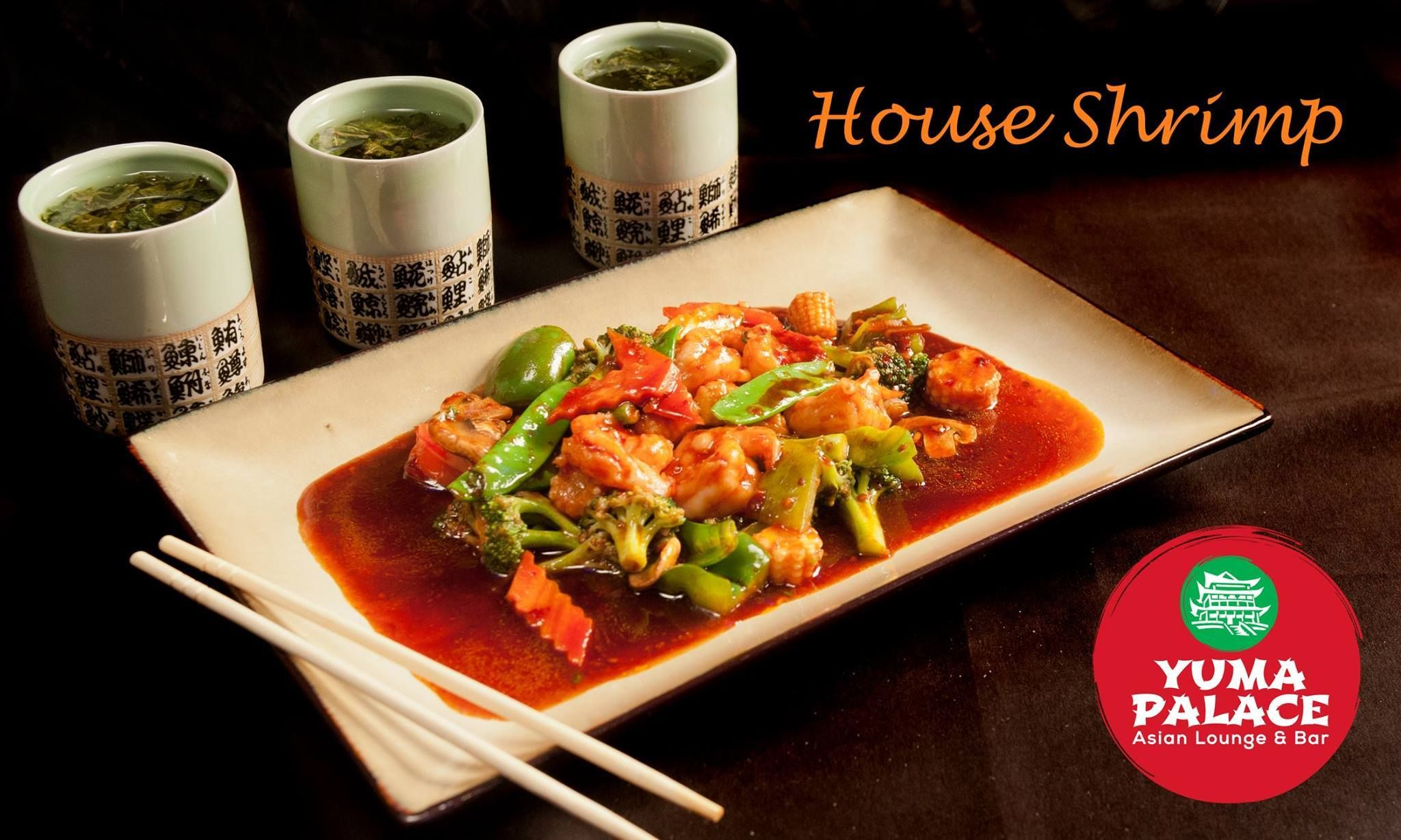 In the mood for some yummy chinese food? Look no further come to Yuma Palace!