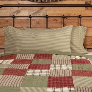 PRAIRIE WINDS QUILT SET-Choose Size /& Accessories-Farmhouse Block VHC Brands