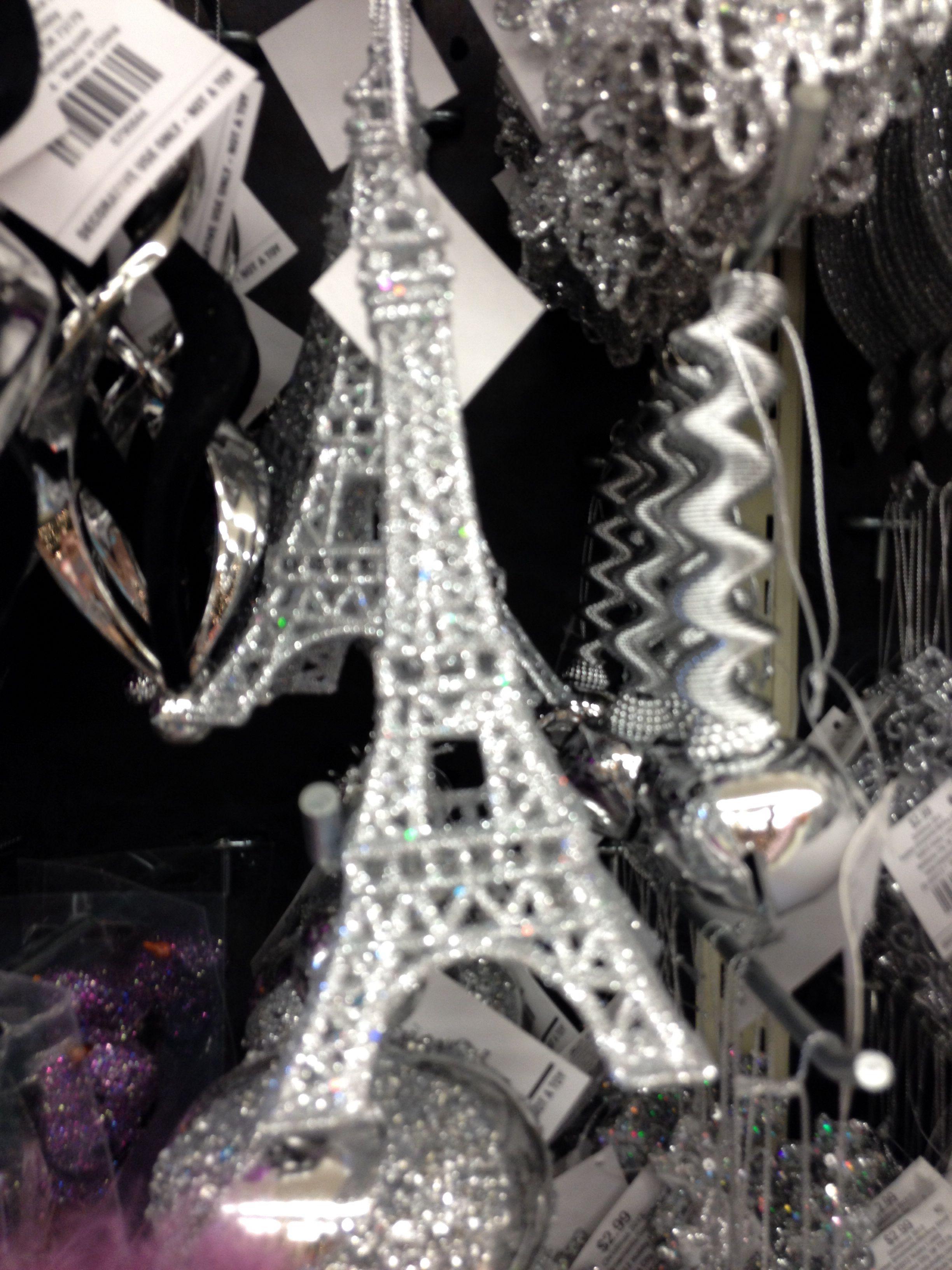 Eiffel Tower ornament at Hobby Lobby | Holiday | Pinterest | Lobbies ...