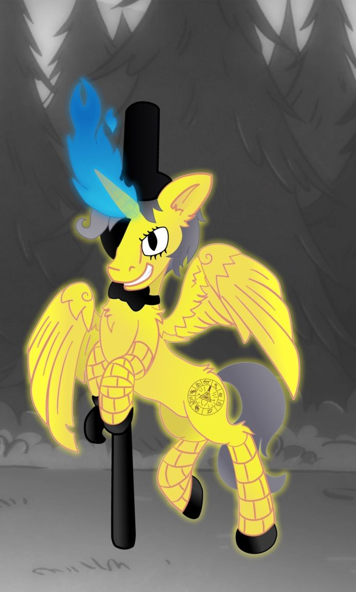 Bill Cipher as MLP!! (MLP + Gravity Falls) | Crossovers | Pinterest | Gravity falls, Fall and ...